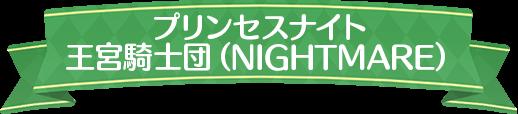プリンセスナイト 王宮騎士団(NIGHTMARE)